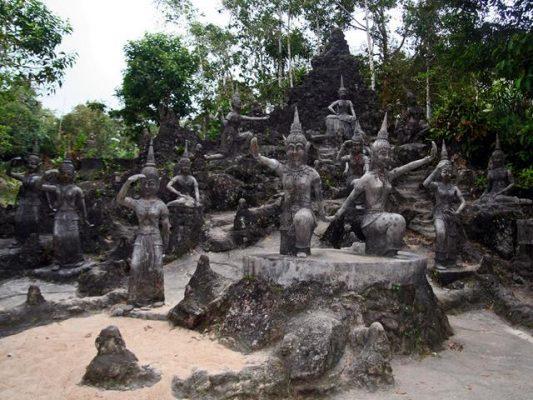 Tayland Koh Samui Gizli Buda Bahçesi