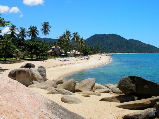 Tayland Koh Samui Lamai  Plajı