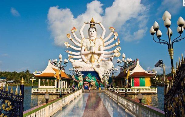 Tayland Koh Saümui Wat Plaai Laem