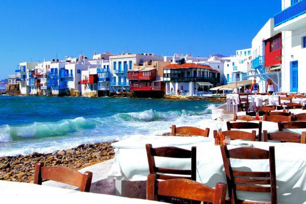 En güzel Yunan adaları Rodos Mikonos Santorini