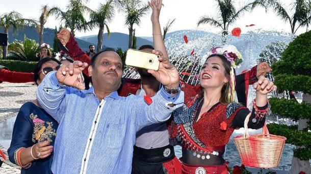 Bodrum'u 4 gün sürecek Hint düğünü heyecanı sardı!