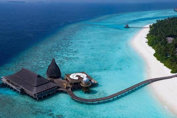 Balayı tatili için Maldivler en iyi seçim