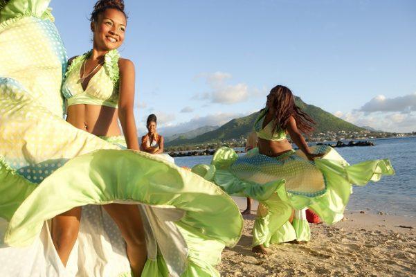 Mauritius'un yerel dansı Sega
