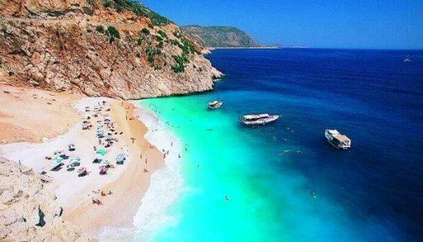 Türkiyenin Mavi Bayraklı plajları çoğaldı!