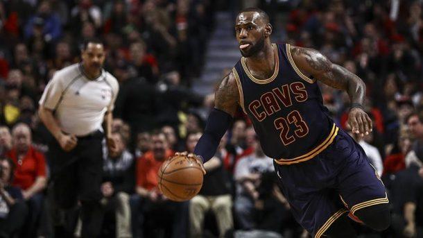 NBA'de ilk finalist Cleveland Cavaliers