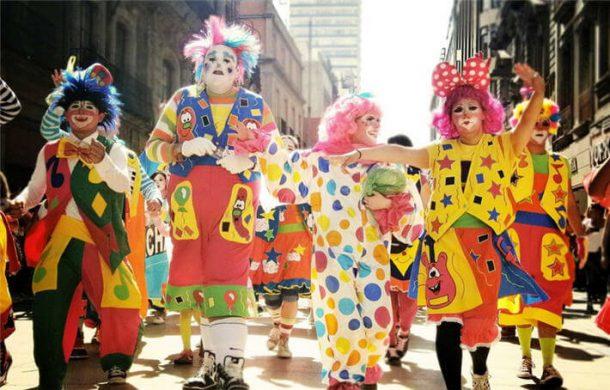 Peru'nun başkenti Lima'da Palyaço Günü kutlandı
