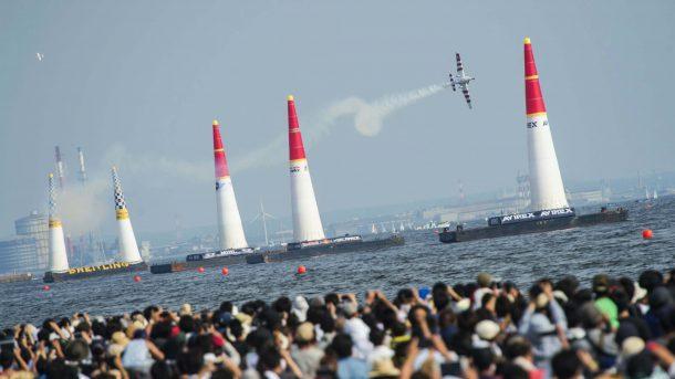 Red Bull Air Race, Japonya'yı salladı!