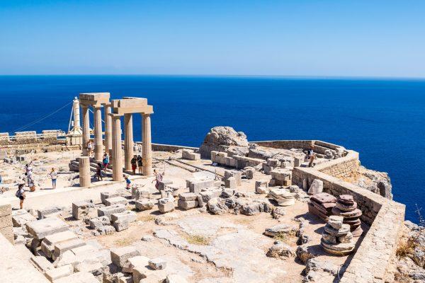 Rodos Adası Lindos Akropolu