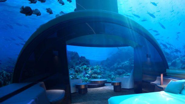 Tatil cenneti Maldivler'in ilk sualtı villası açılıyor!