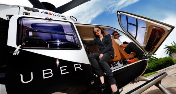 Uber uçan taksi projesini sürdürüyor