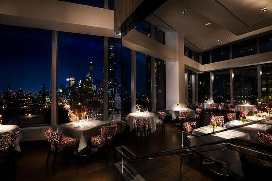 New York'ta bulunan Asiate, Mandarin Oriental Hotelin içinde