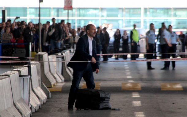 Şüpheli valiz Atatürk Havalimanı'nda panik yarattı!