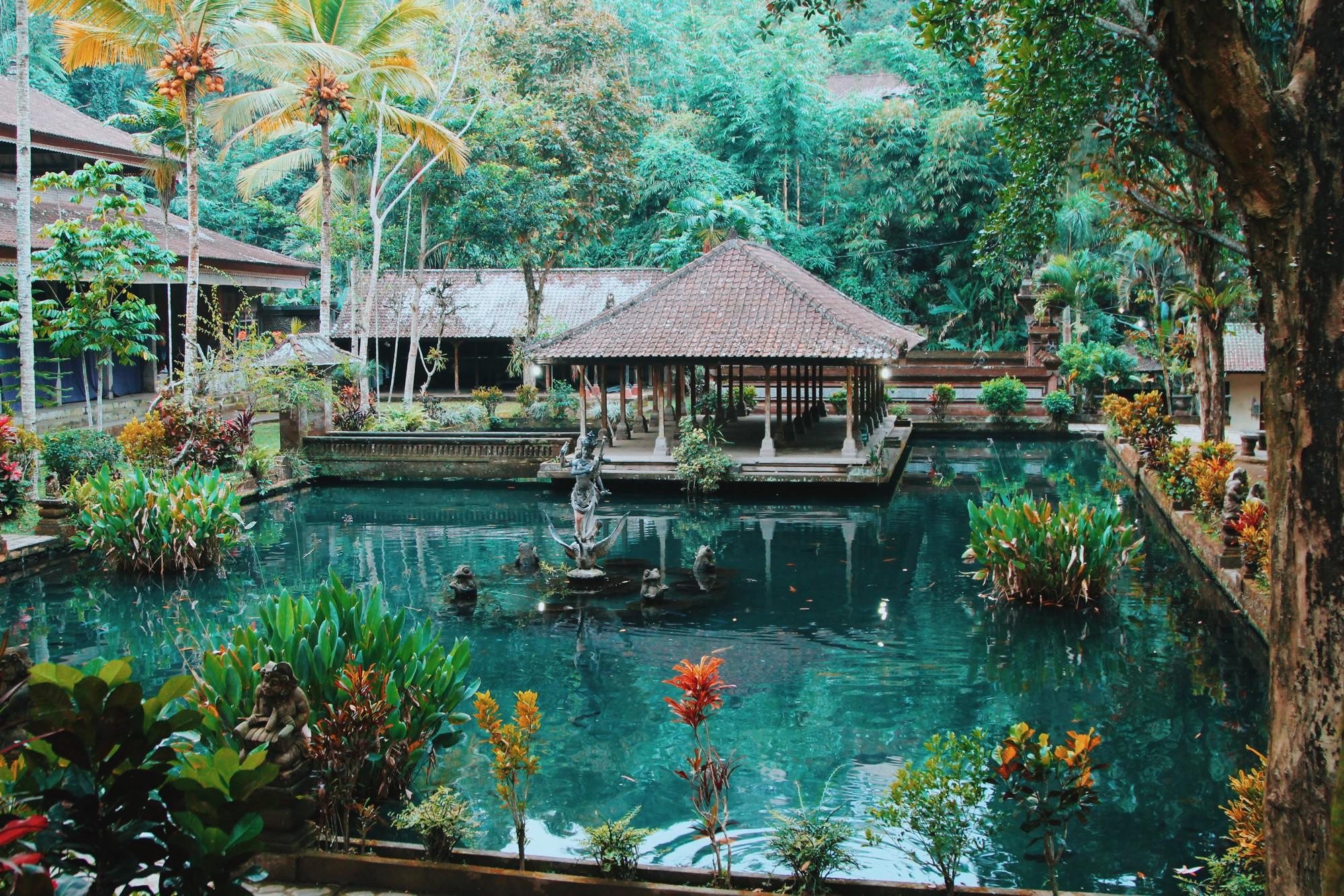 Balayı Adası Bali bir doğal cennet