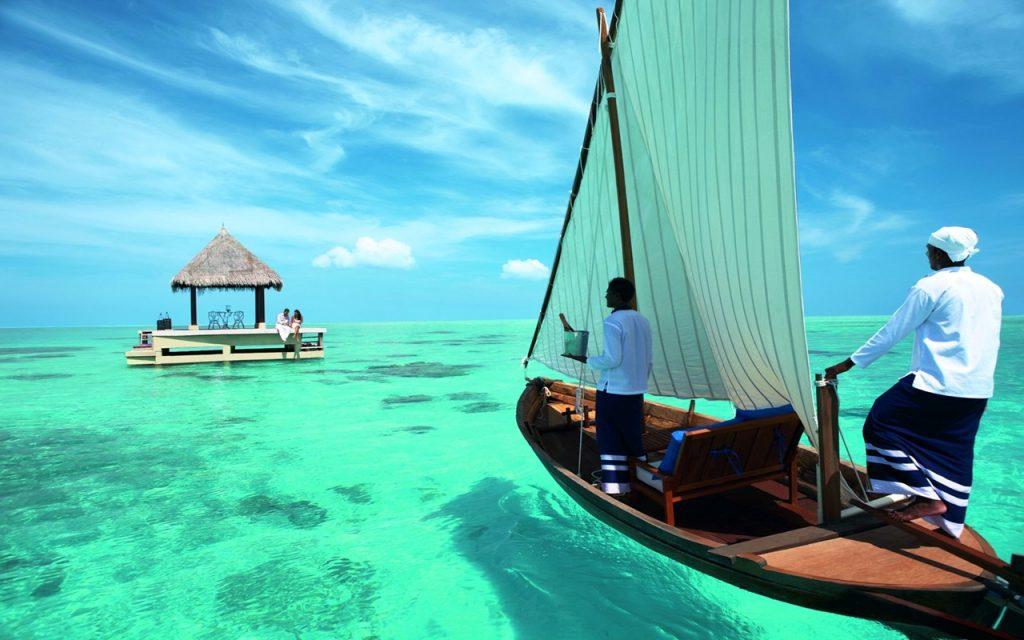Balayı çiftlerinin gözdesi Maldivler