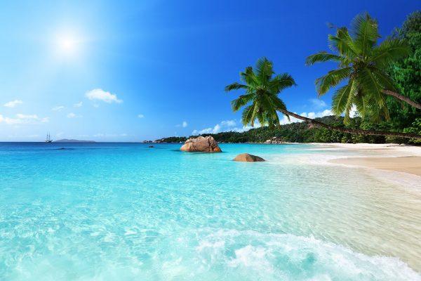 bBalayı tatil için Mauritius