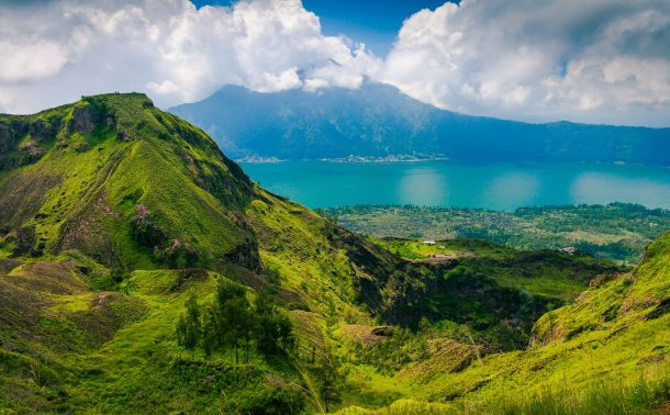 Bali'de bir volkan: Batur