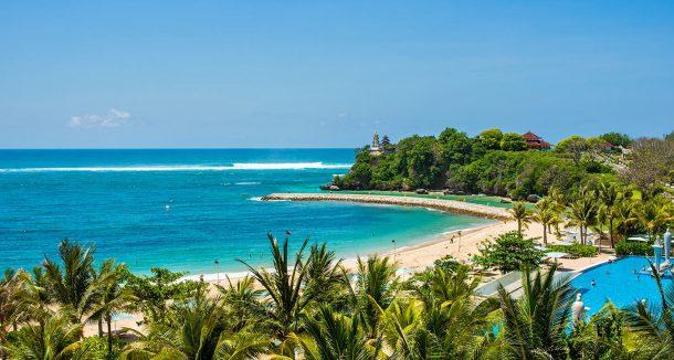 Bali Nusa Dua daha sessiz bir bölge