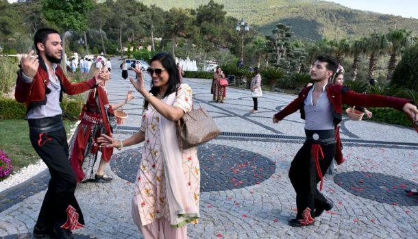 Bodrum'da Hint düğünü heyecanı