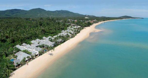 Koh Samui Maenam plajı