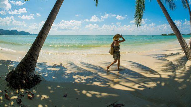 Koh Samui Bophut plajı