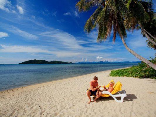 Koh Samui Taling Ngam plajı