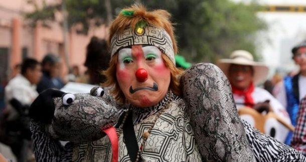 Lima'da palyaço günü kutlandı