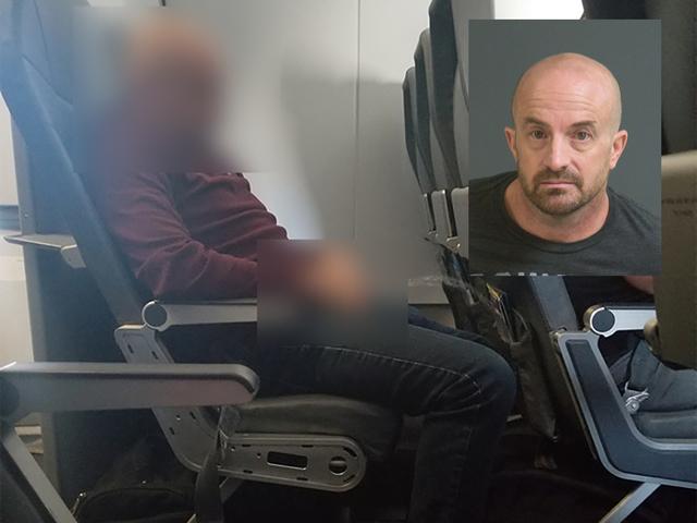 Uçakta olay çıkaran sarhoş yolcu koltukta tuvaletini yaptı!