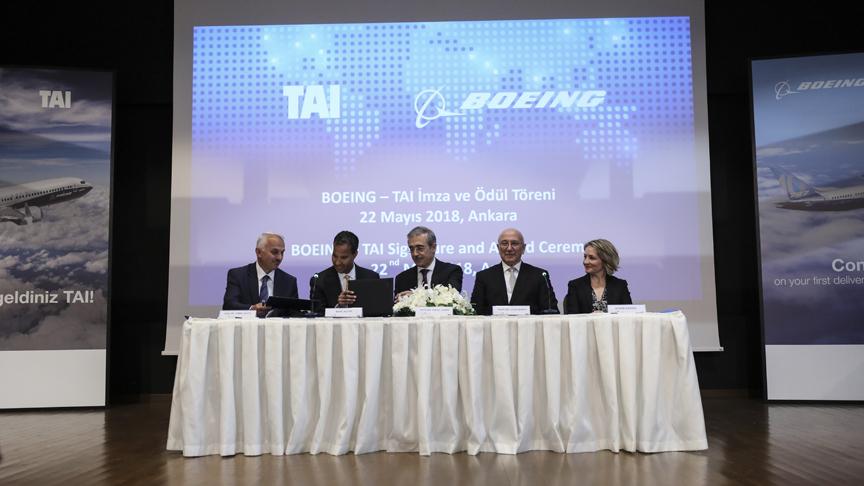 TAI ile Boeing yeni anlaşma imzaladı!