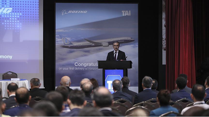 TAI ile Boeing arasında anlaşma imzalandı