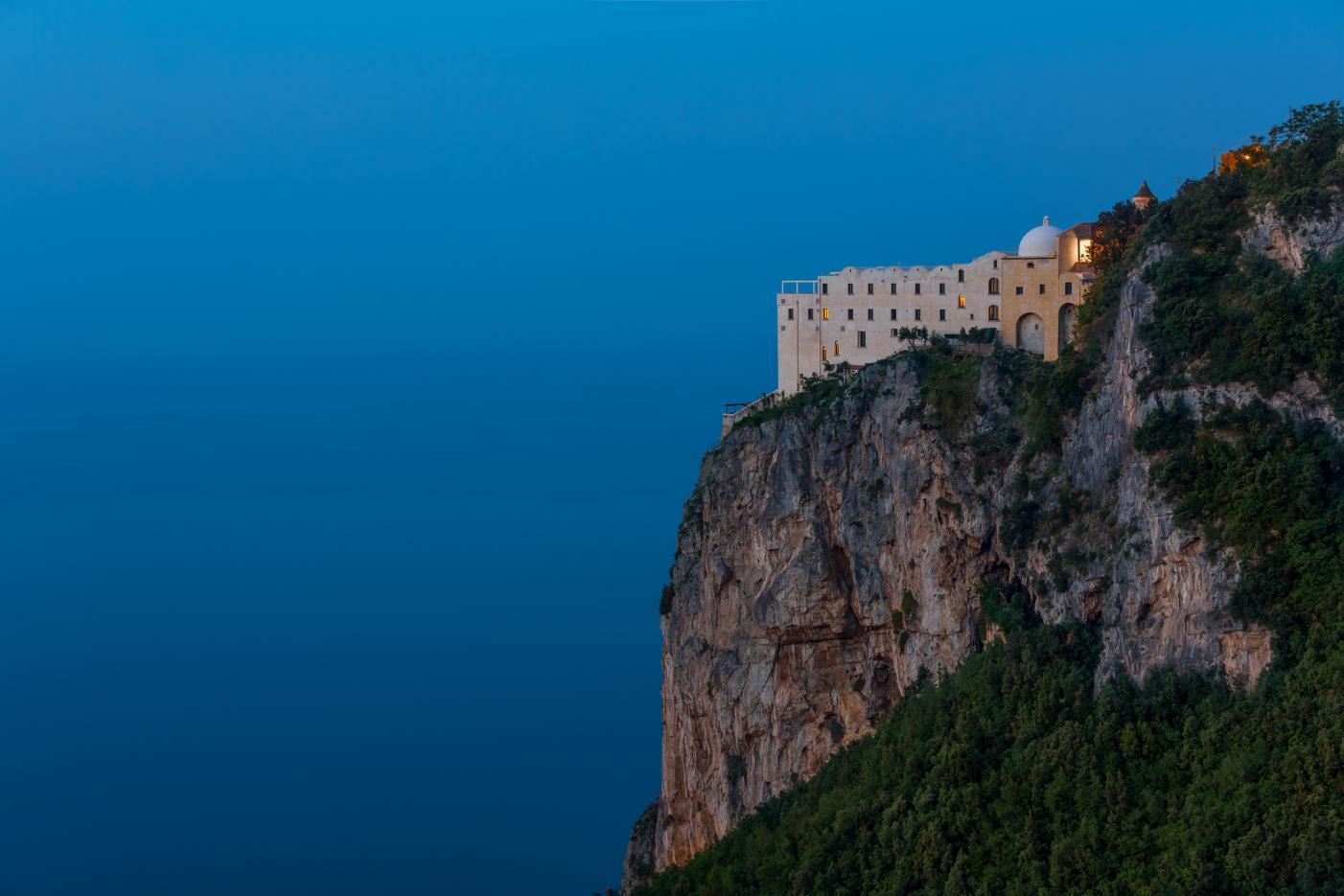İtalya Monastero Santa Rosa lüks balayı oteli