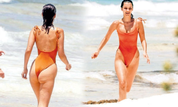 Bella  Hadid Meksika'nın Cancun kentinde tatil yapıyor
