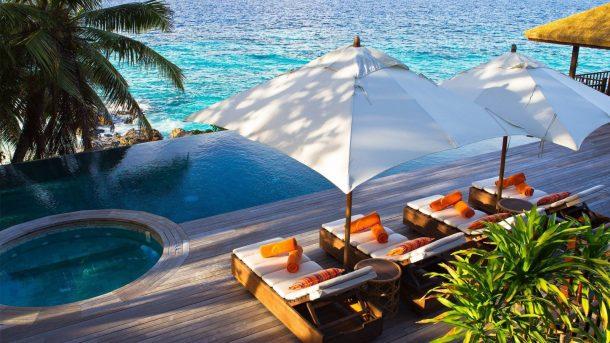 Şeyseller Fregate Island Resort lüks balayı tatili için en iyi seçim