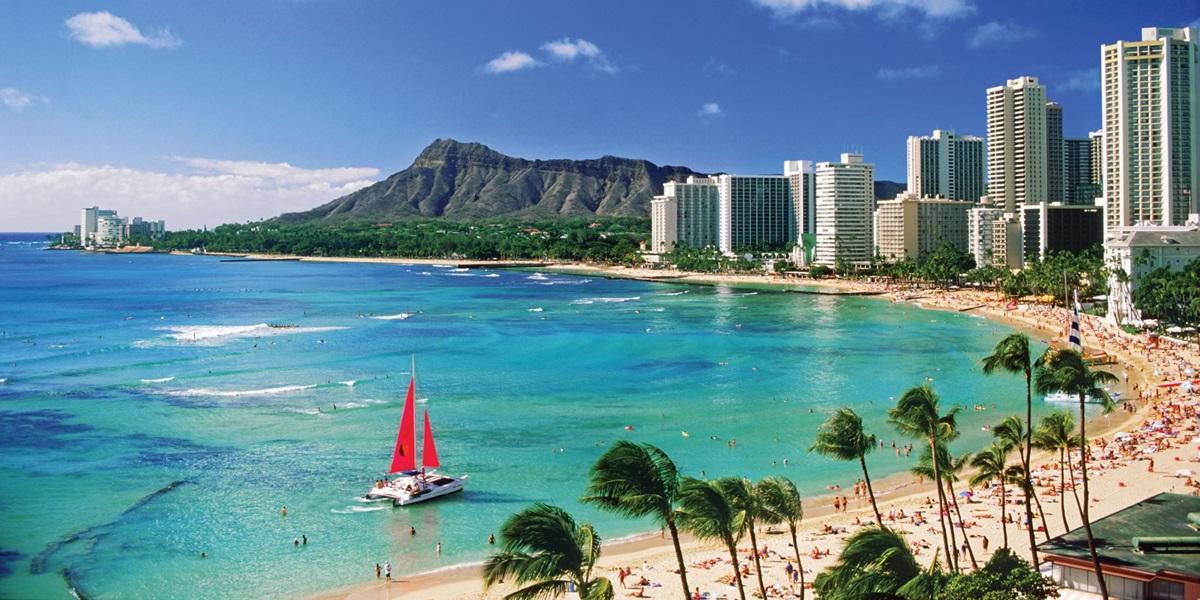 Amerika'da balayı tatilinin en güzeli Hawaii'de