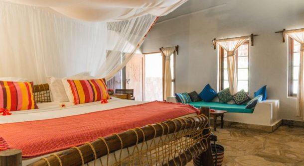 Manta Resort Pemba adası odaları