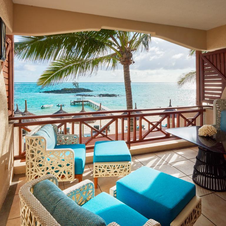 Mauritius Constance Belle Mare Plage balayı oteli