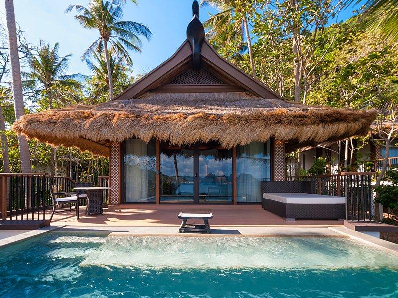 Pangulasian Island Resort Filipinler lüks balayı tatili