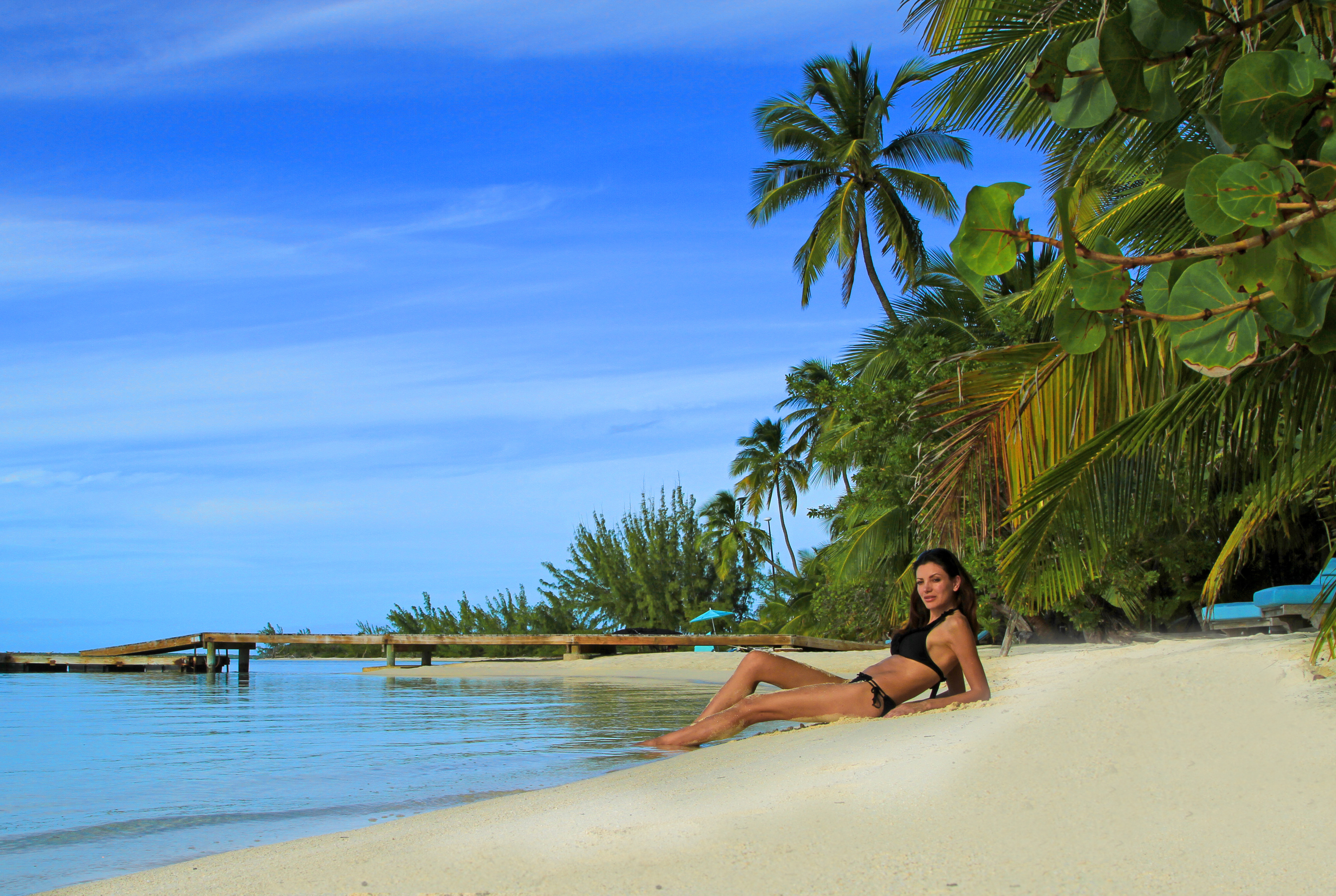 Bahamalar Tiamo Resort lüks balayı oteli plajı