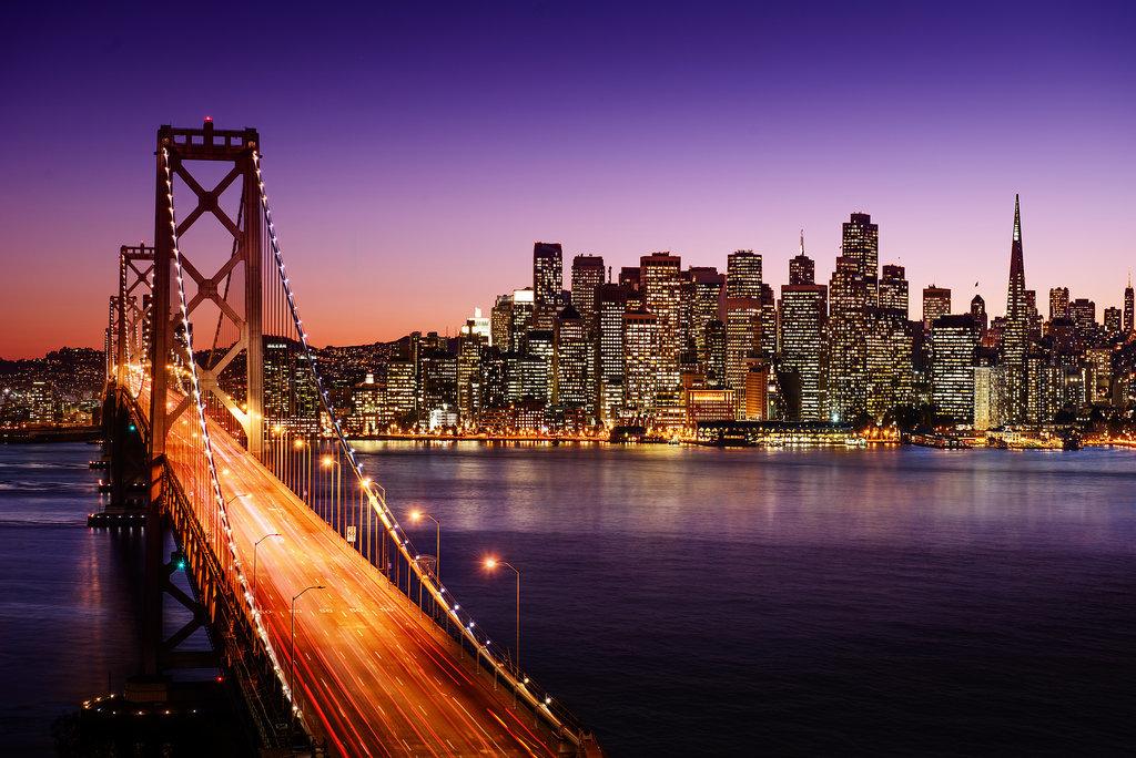 San Francisco Amerika balayı tatilinin muhteşem yeri