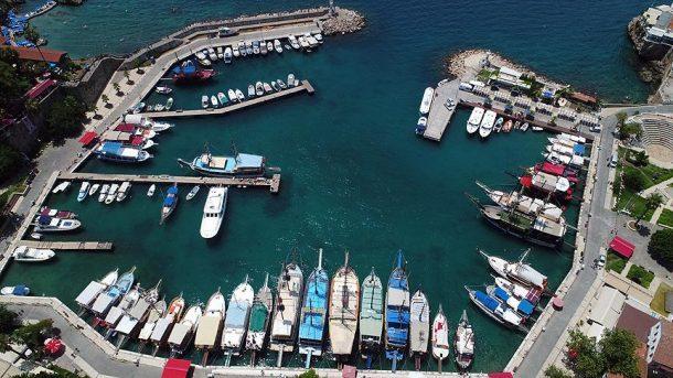 Antalya'daki tur tekneleri turizmin vazgeçilmezi!