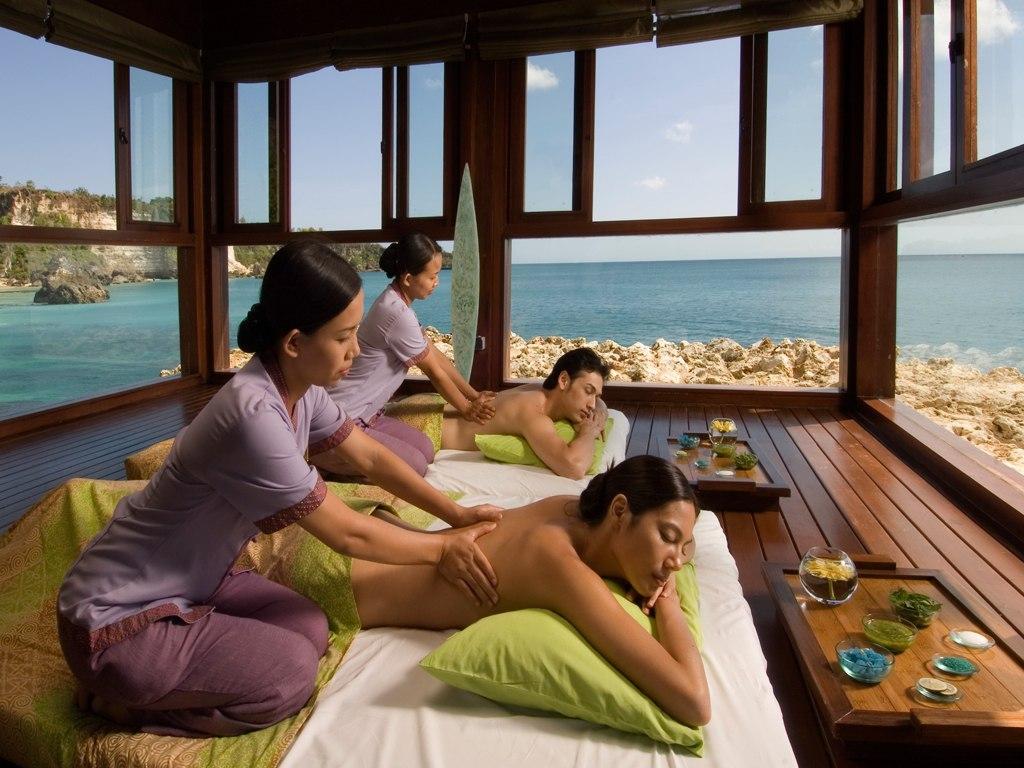 Bali'nin dünyaca ünlü masajı