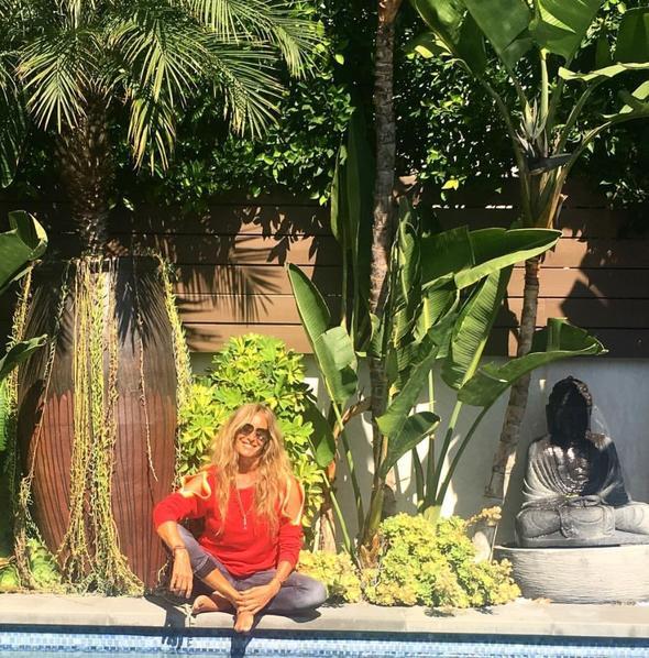 Bennu Gerede Bali adası plates eğitmeni oldu