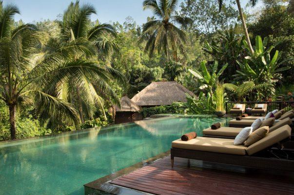 Hanging Gardens of Bali lüks balayı tatili