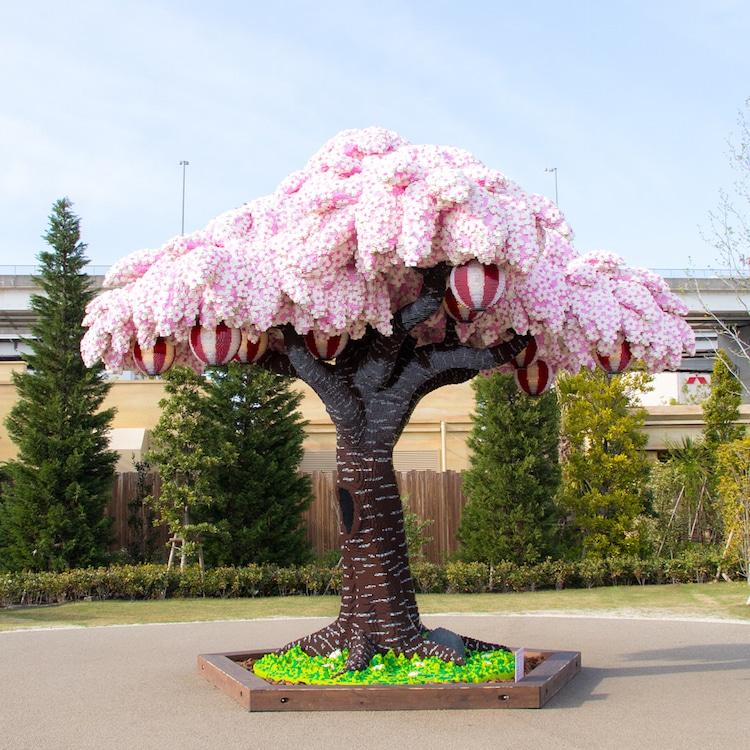 Çekya'da LEGO'dan yapılan Sakura Ağacı Guinness'e girdi!