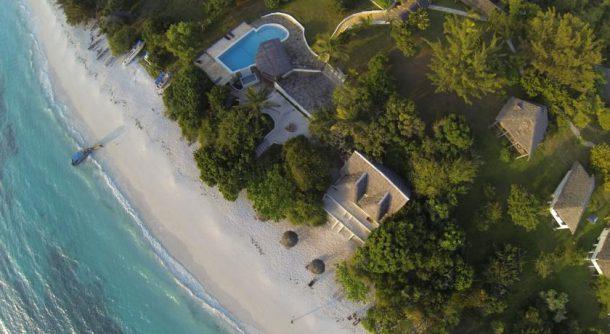 Manta Resort Pemba Adası villaları