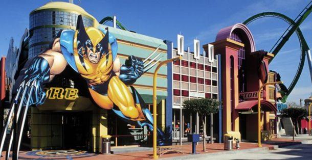 Disneyland super kahramanlar bulunmakta