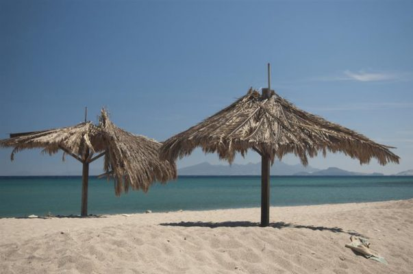 Kos adası meşhur Kardamena plaji