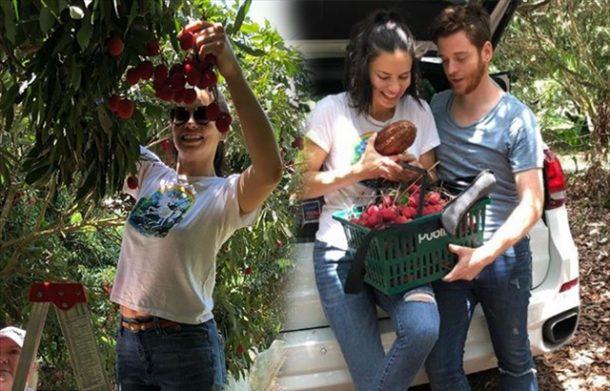 Adriana Lima ve Metin Hara Brezilya'da aşk meyvesi topladı!