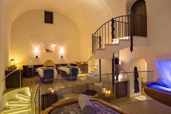 İtalya Monastero Santa Rosa lüks balayı oteli spa