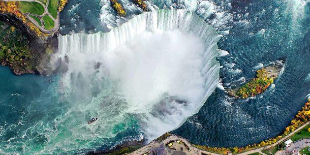 Niagara şelalesi balayı tatili için farklı bir fırsat