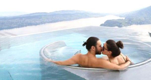 Pelin Akil ile Anıl Altan İsviçre'de aşk tatili yapıyor